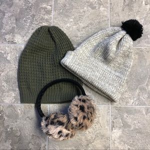 💋 Winter Hat and Earmuff Bundle